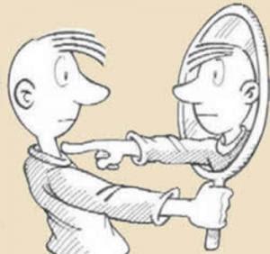 centrarse en uno mismo