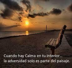 paz y calma