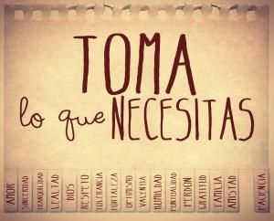 qué necesitas