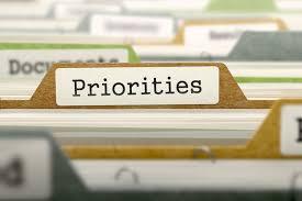 yo, mi prioridad